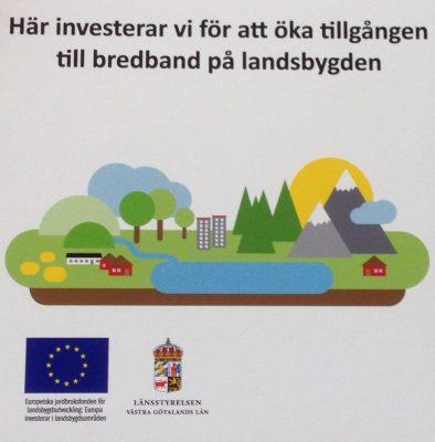 EU och Länsstyrelsen ger bidrag till fiberföreningarna